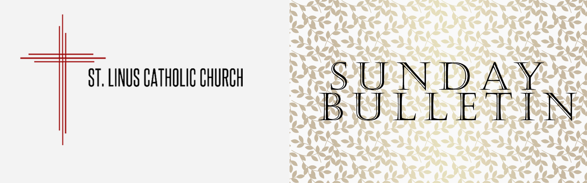 All Web site visitors are invited to download our church bulletins from  this page